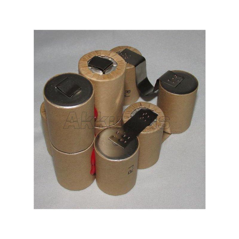 Akkupack für Hitachi EB1214S - 4/5SC - 12 Volt zum Selbsteinbau