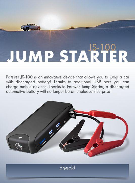 Forever JS-100 12000 mAh - Ladeger�t und Star
