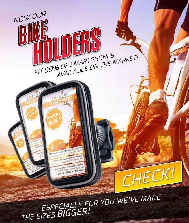 Universal Fahrradhalter f�r Mobilger�te
